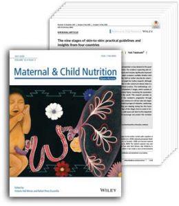 Maternal Child Nutrition June 2020